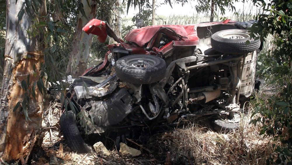 Accidente de tráfico en Los Palacios
