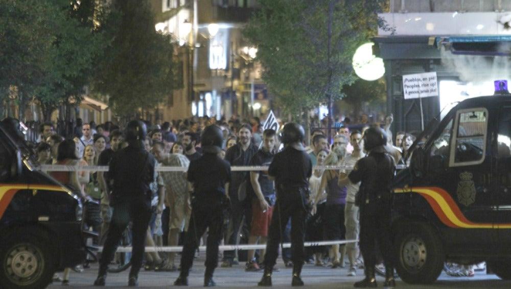 Barrera policial
