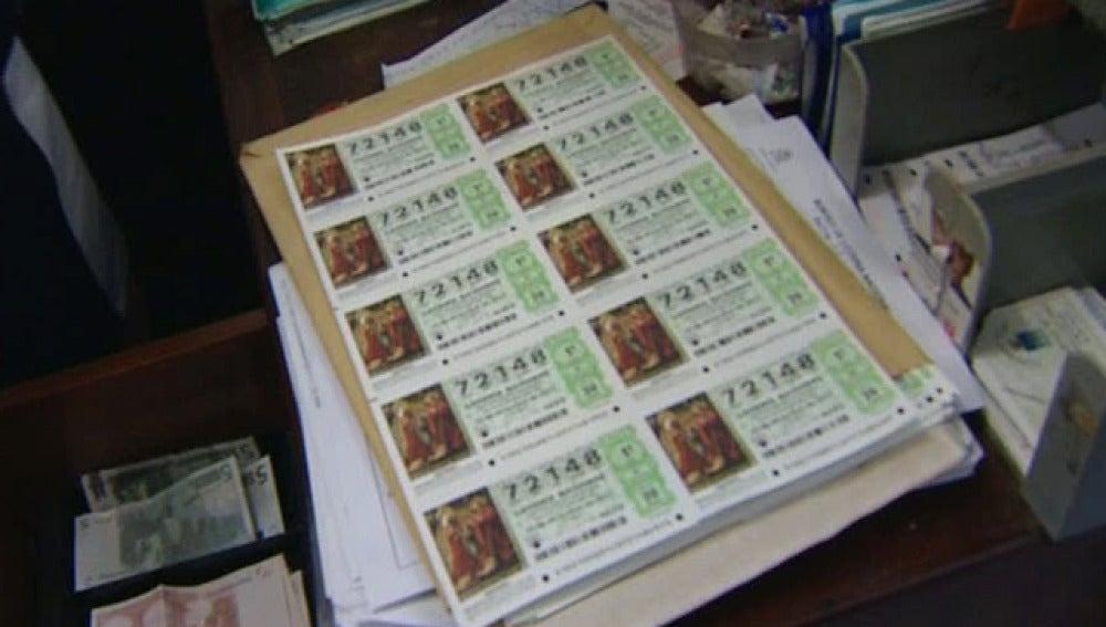 Roban 130 décimos de Lotería y los devuelven al día siguiente