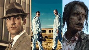 Mad Men, Breaking Bad y The Walking Dead