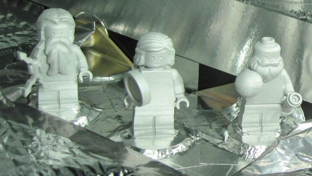 Juno llevará tres figuritas de LEGO a Júpiter