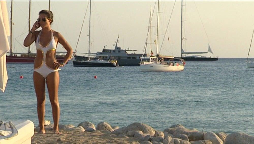 Sunset party en Ibiza