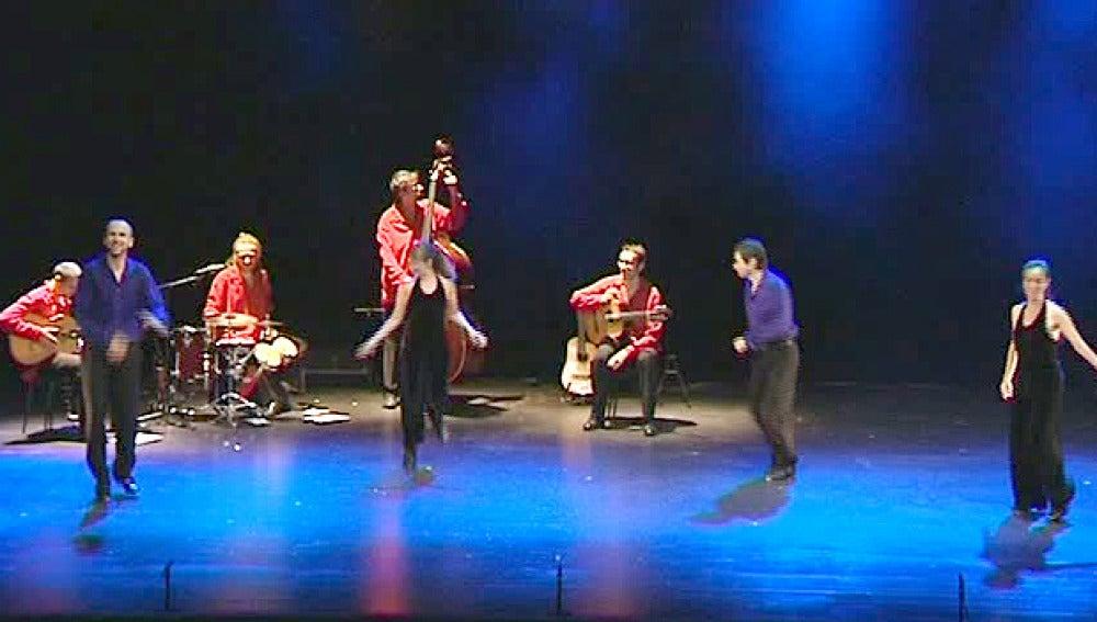 Fusión de flamenco y claqué
