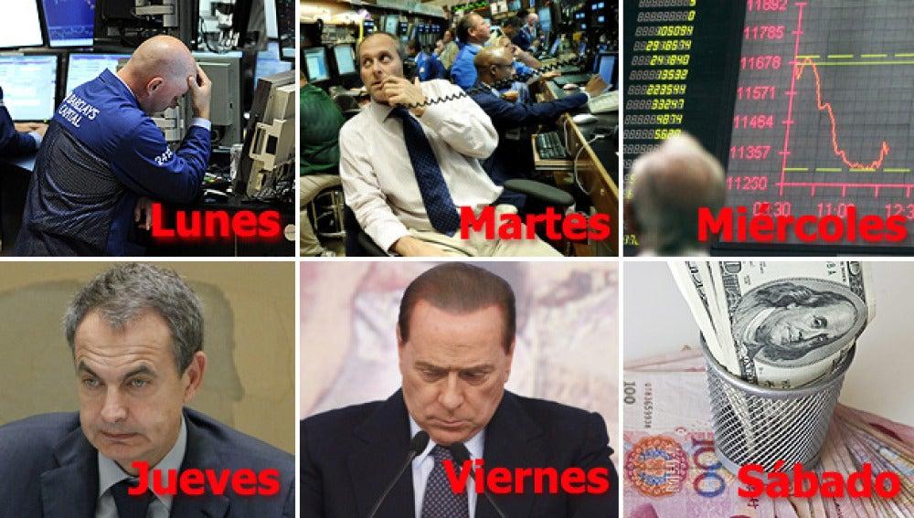 Una semana complicada en los mercados