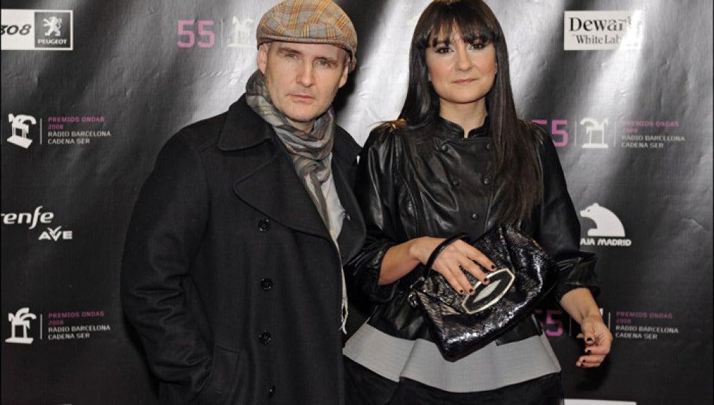 Eva Amaral y Juan Aguirre.