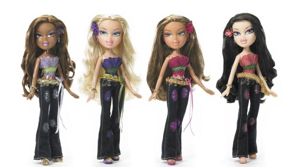 Unas muñecas Bratz, de la compañía MGA
