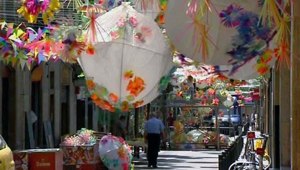 Calles en Fiestas de Gracia