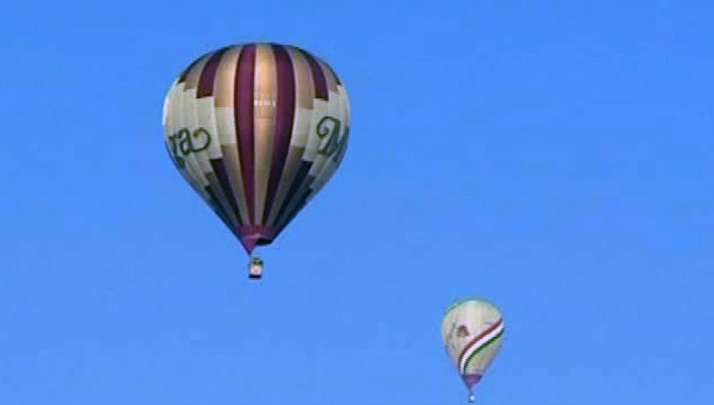 Competición de aerostáticos en Aro