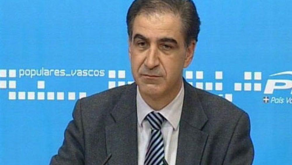 Leopoldo Barreda, portavoz del PP en el Congreso de los Diputados