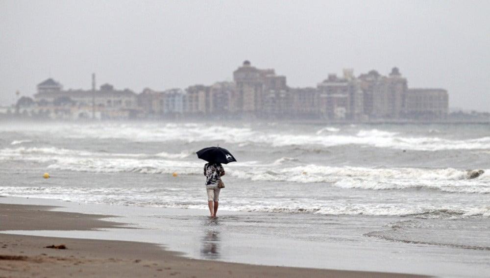 Intensas tormentas de verano afectan el centro de la península