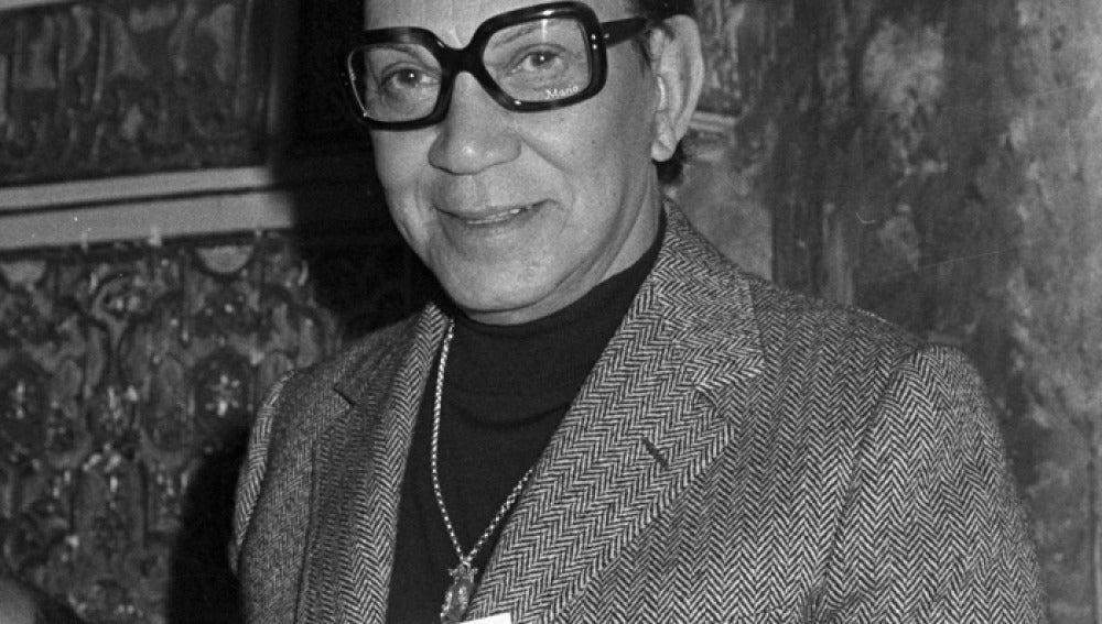 El cómico mexicano Mario Moreno más conocido como Cantinflas.