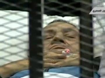 Hosni Mubarak, ante el juez