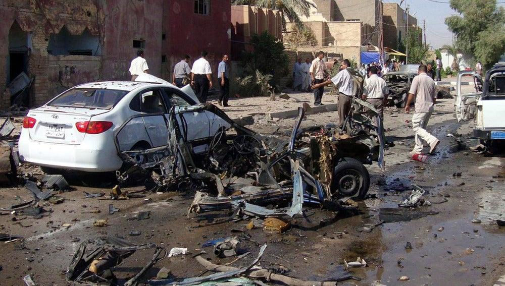 Atentado en Irak en el que han muerto 66 personas