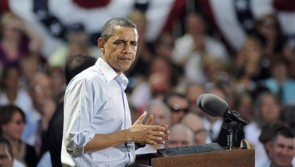 El presidente estadounindese Barack Obama