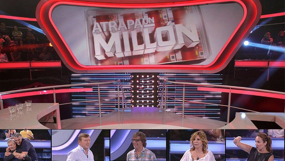Más famosos en la nueva semana especial de Atrapa un millón
