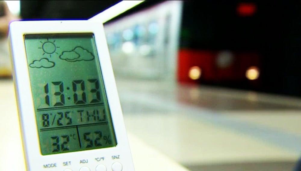 Ajusta el aire acondicionado al espacio y que la temperatura
