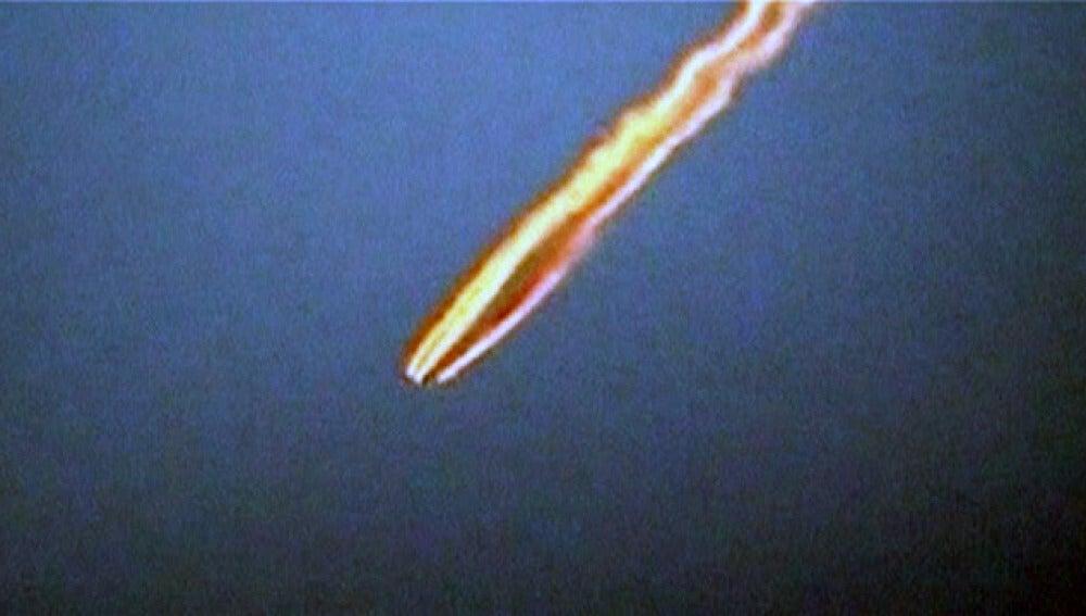 Un meteorito atraviesa el cielo de Cuzco