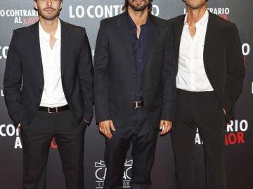 Alex Barahona, Hugo Silva, Ruben Sanz