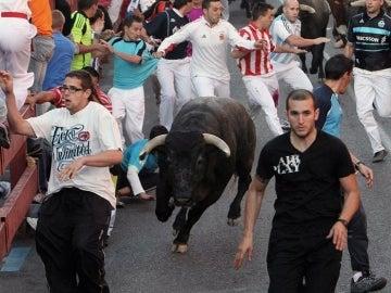 Un toro de victorino en Sanse