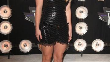 Britney Spears, la mujer de negro