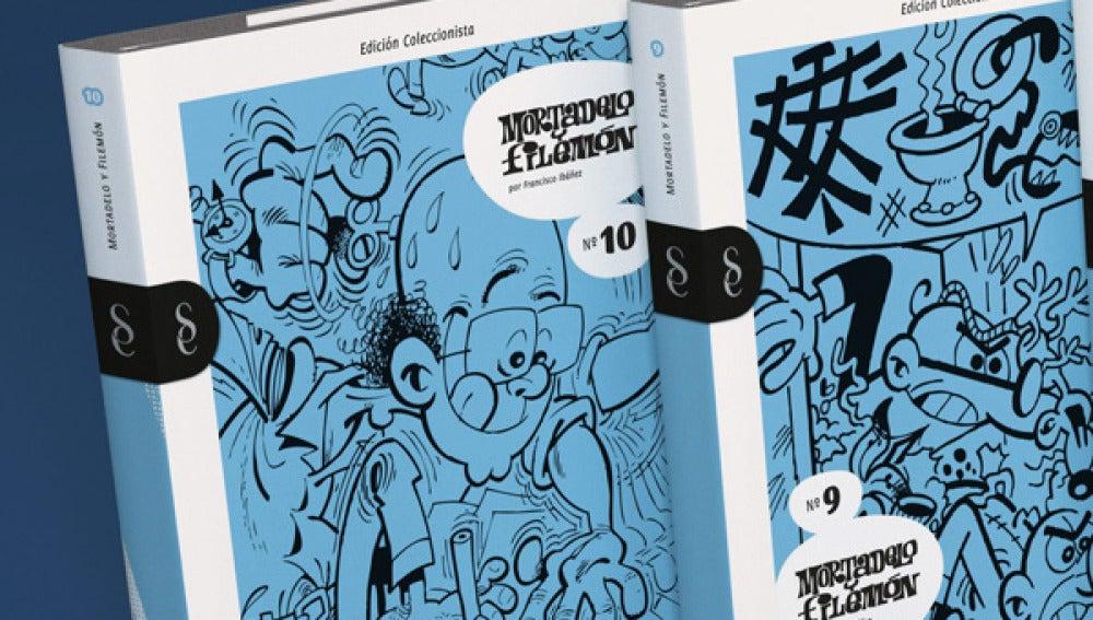 Lo mejor de 'Mortadelo y Filemón' en 3.000 páginas.