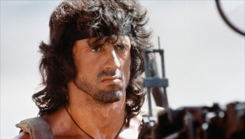 Sylvester Stallone es Rambo