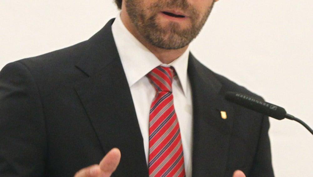 José Ramón Bauzá, presidente de las Islas Baleares