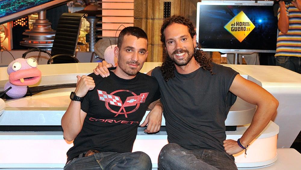 Juan y Damián en El Hormiguero
