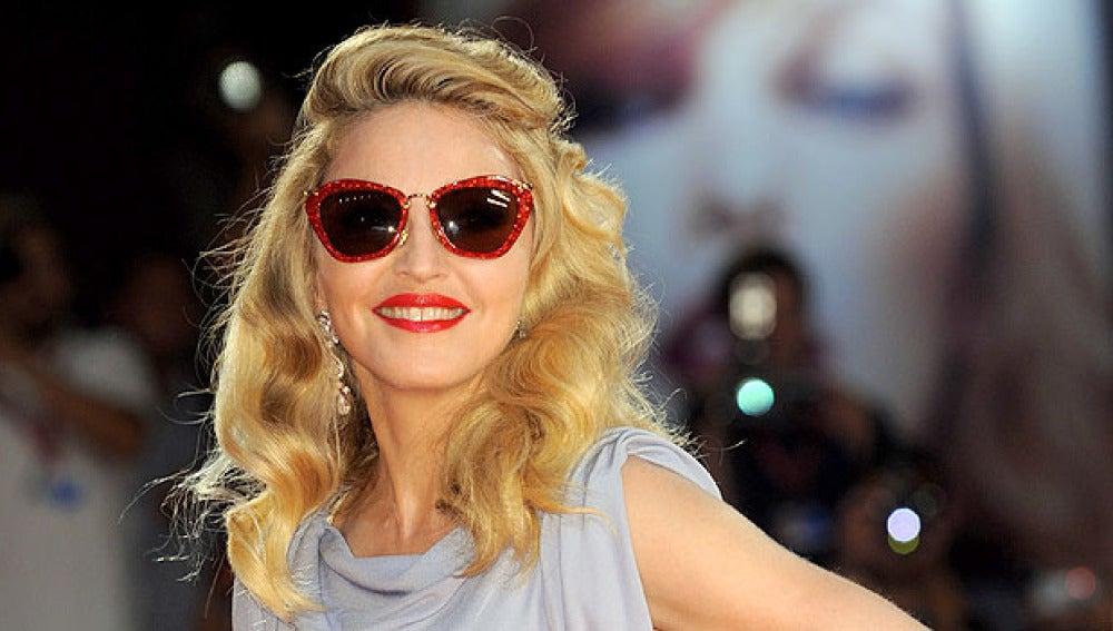 Madonna llega a la Mostra