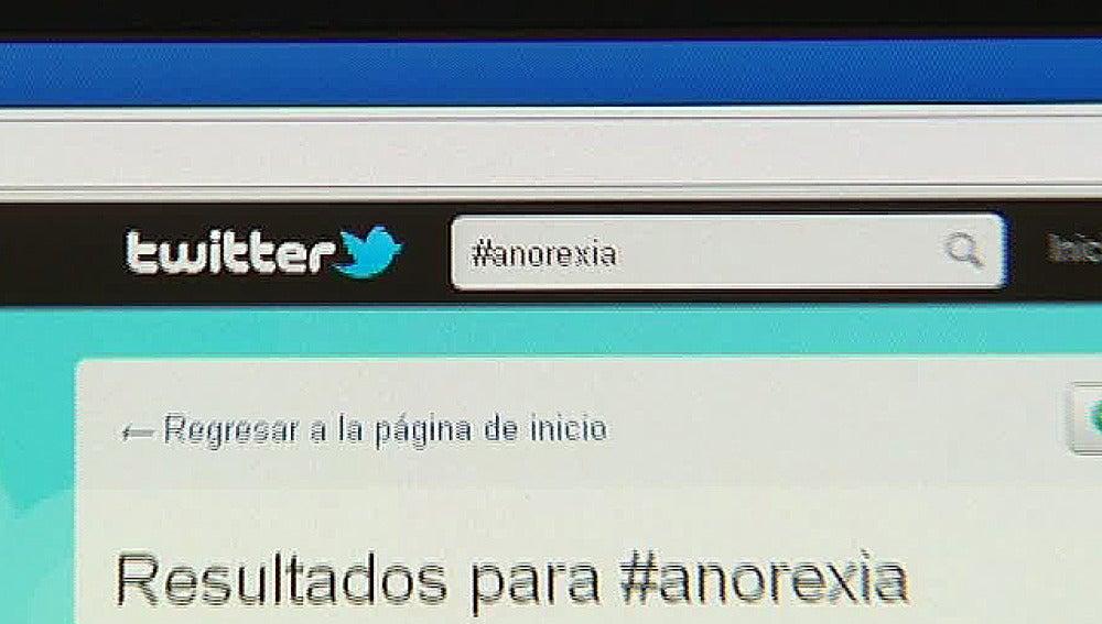 Fuera las cuentas de Twitter que inciten a la anorexia y la bulimia
