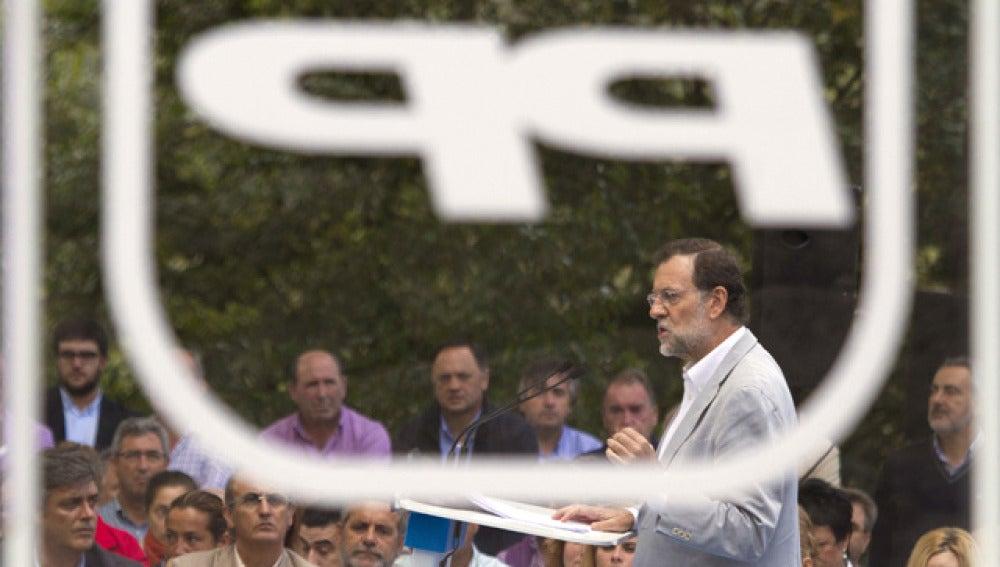 Mariano Rajoy, en Pontevedra