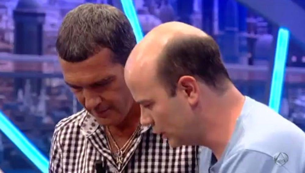 Jandro experimenta con Antonio Banderas