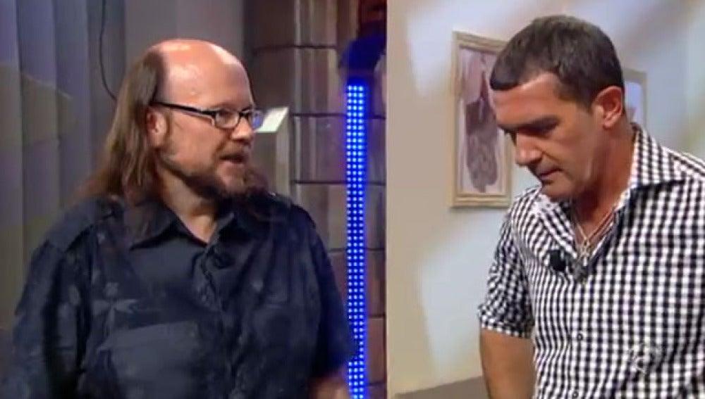 Santiago Segura y Antonio Banderas