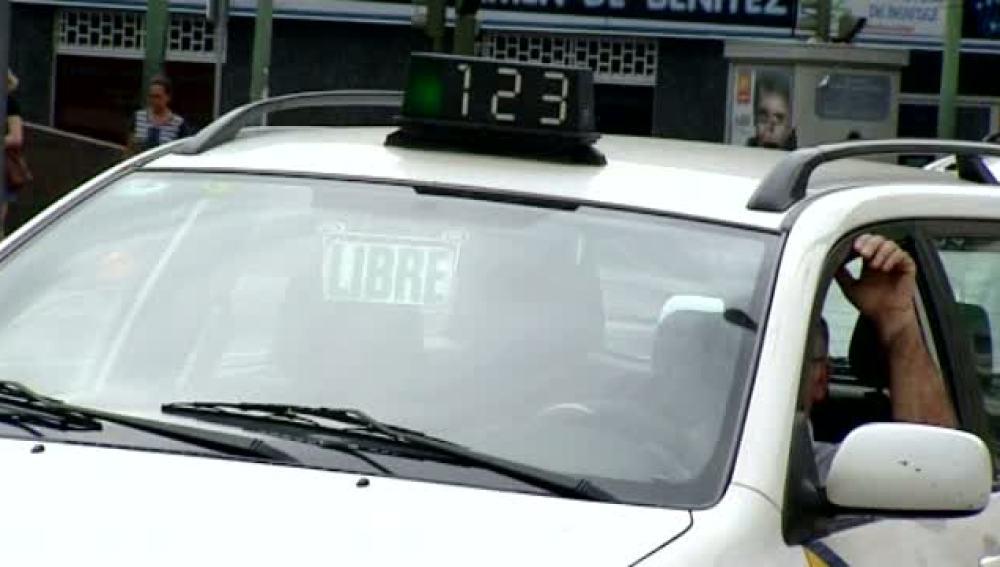 Los taxistas piden más seguridad