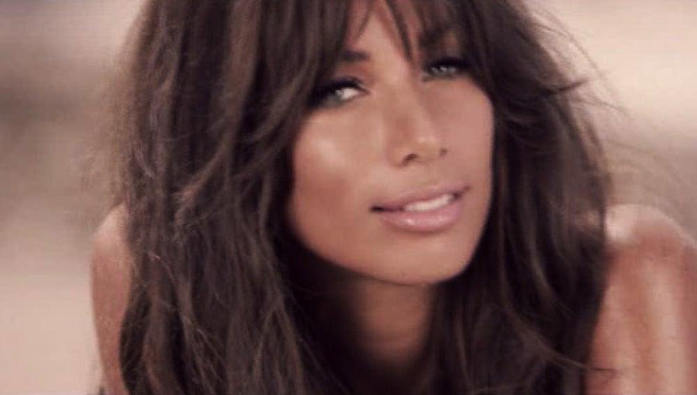 Leona Lewis en un momento de su nuevo videoclip.