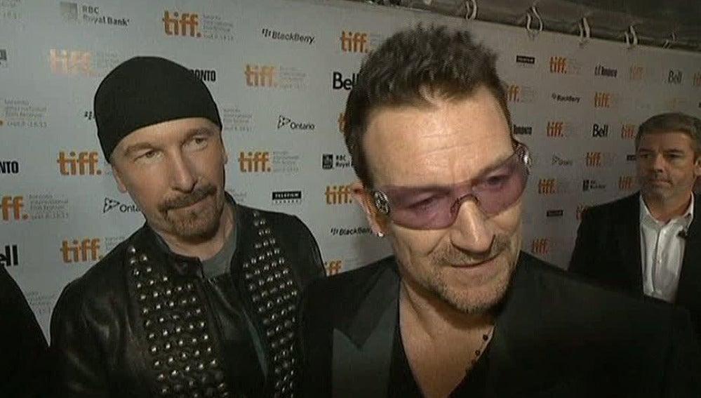U2 abre el festival de Toronto
