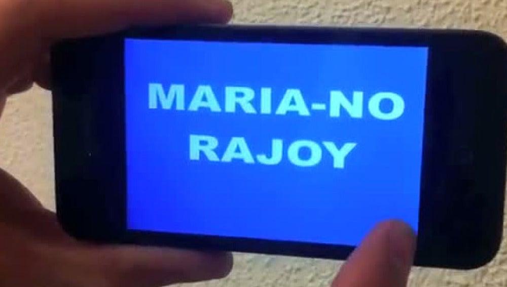 Maria-NO Rajoy