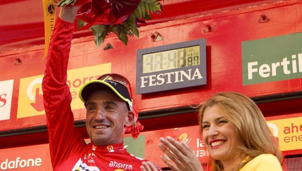 Juanjo Cobo ganador de la Vuelta Ciclista 2011