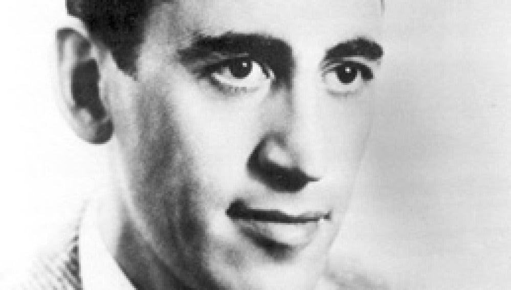 Imagen del autor estadounidense, J.D. Salinger, autor de ''El Guardián entre el centeno'.