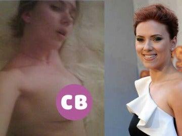 Scarlett Johansson se fotografía desnuda