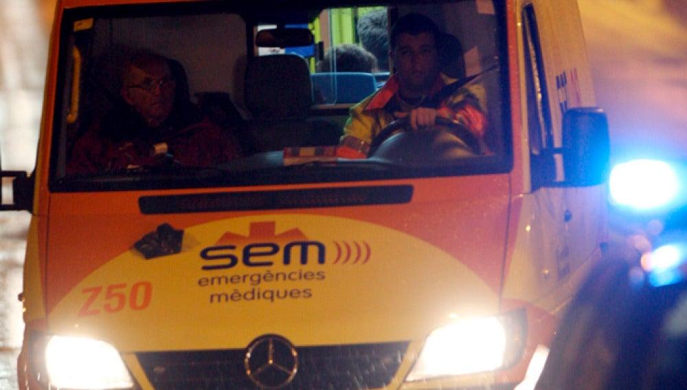 Imagen de una ambulancia del Sistema de Emergencias Médicas (SEM)