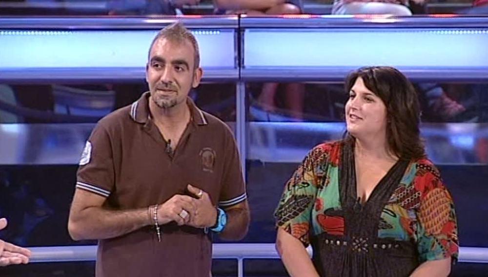María y Roberto