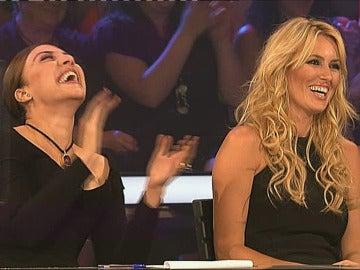Mónica Naranjo y Carolina Cerezuela en 'Tu cara me suena'