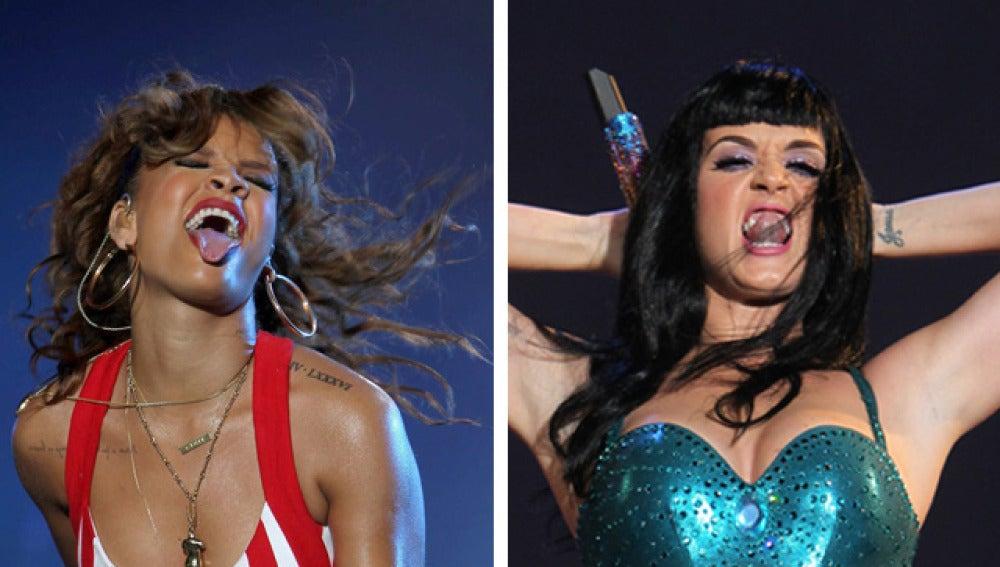 Katy Perry Vs Rihanna: duelo de divas en Rock in Rio 2011