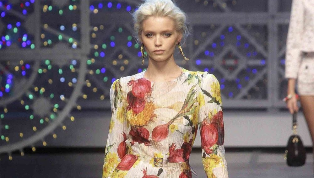 Dolce & Gabbana cocina en Milán un colorido homenaje a la huerta mediterránea