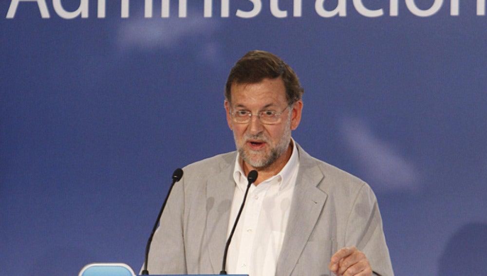 Mariano Rajoy, en Zaragoza
