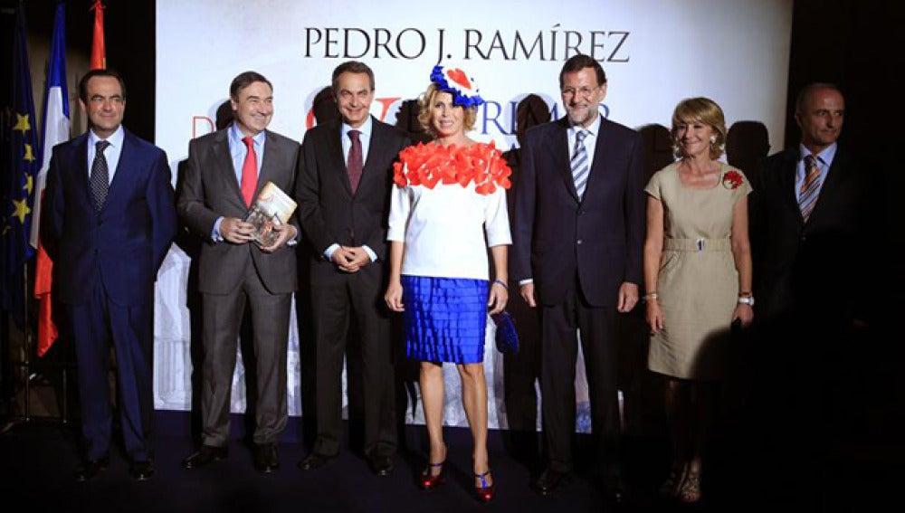 Presentación del libro de Pedro Jota Ramírez