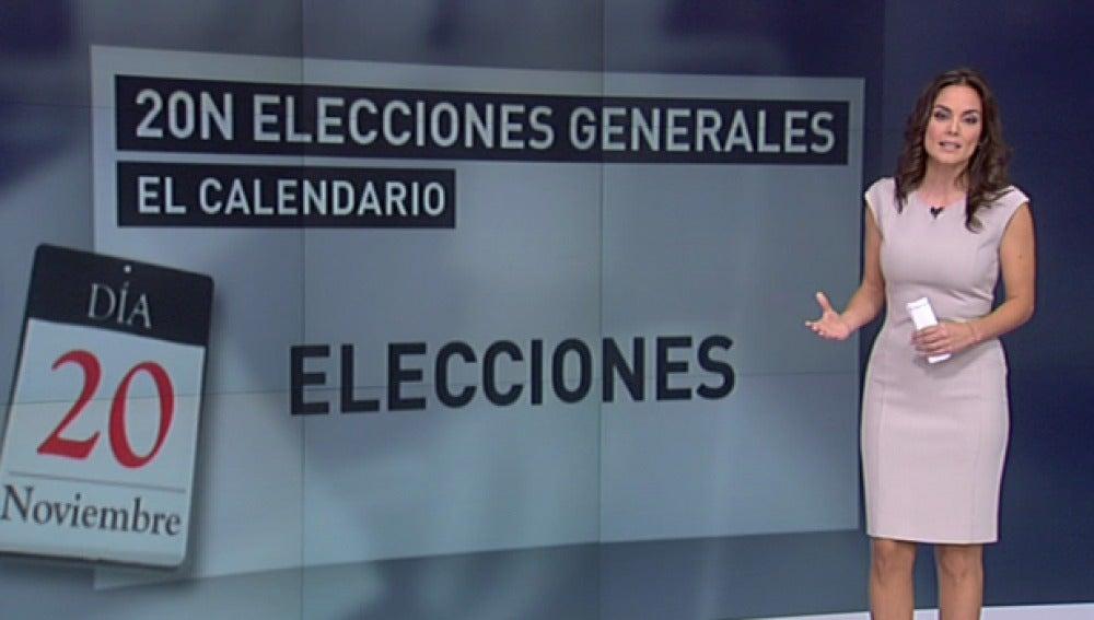 Las elecciones del 20 de noviembre, en fechas