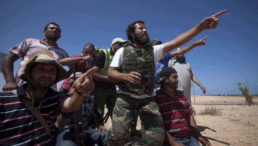 Los rebeldes controlan Sirte