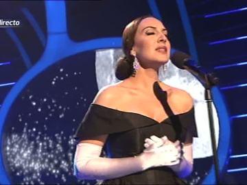 Mónica Naranjo imita a Maria Callas